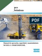 Manual Operacion Seguridad Mantenimiento Perforadoras Atlas Copco