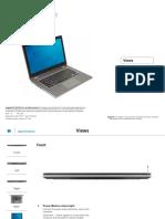 Inspiron 13 7353 Laptop Reference Guide en Us
