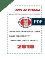 Documentos Tutoria 2018 3º A
