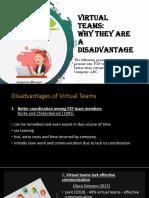 Virtual Teams Power Point Presentation