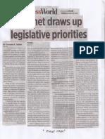 Business World, Aug. 22, 2019, Cabinet draws up legislative priorities.pdf