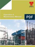 thermax boiler O&M manual