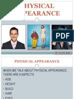Physical Appearance Presentation 81031