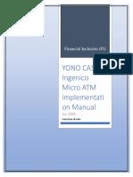 Ingenico Yono Application Installation Steps 27062019