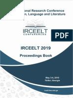 Proceedings of IRCEELT 2019