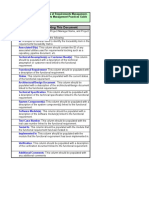 13 Requirements Traceability Matrix