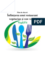 Infiintarea Unui Restaurant Vegetarian Si Raw Vegan