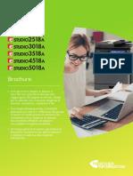 Brochure TOSHIBA e-STUDIO2518A/3018A/3518A/4518A/5018 italiano