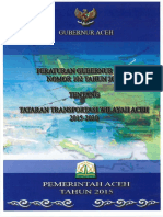 Pergub Aceh No. 102 Tahun 2014 Ttg Tatrawil Aceh 2015-2030