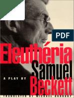 Beckett, Samuel - Eleutheria (Foxrock, 1995).pdf