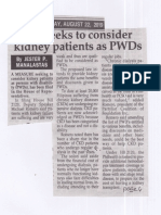 Peoples Tonight, Aug. 22, 2019, Bill seeks to consider kidney patients as PWDs.pdf
