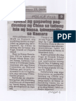 Police Files, Aug. 22, 2019, Epekto ng gagawing pagdevelop ng China sa tatlong isla ng bansa, ipinapasilip sa Kamara.pdf