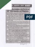 Remate, Aug. 22, 2019, Apl de Ap magpe-perform sa 30th SEA Games sa Pilipinas.pdf