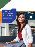 International Postgraduate Course Guide 2016 17