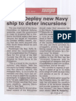 Tempo, Aug. 22, 2019, Solon Deploy new Navy ship to deter incursions.pdf