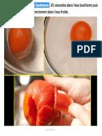 21. Pour Peler Une Tomate Facilement