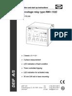 RMV-132D, Installation Instructions 4189340117 UK