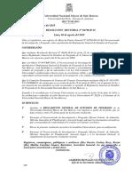 Reglamento General UNMSM-posgrado