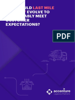 Accenture Last Mile Delivery Meet Customer Expectations