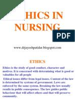 ethicsinnursing-130430002008-phpapp01