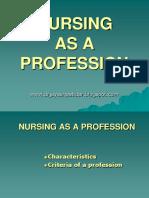 nursingasaprofession-130501003739-phpapp01