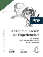 La Sistematización de Experiencias (Autores Varios)