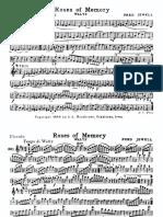 Roses of Memory (Waltz) - Parts