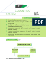 Cost Accounting System