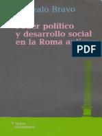 Gonzalo Bravo (Poder Político y Desarrollo Social en La Roma Antigua)