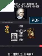 El Rol de Dios y La Religión en La Filosofía Política de Thomas Hobbes