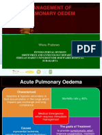 Management of Lung Oedem