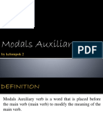 PPT modals