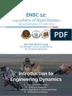 ENSC 12 Chapter 1 Part 1