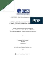 A Study and Development of Four Quadrant H-Bridge DC Motor Controller Using PIC18F4550