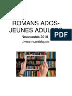 PNB 2018 1 Romans Ado Jeune Adulte