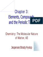 Ch3_Elements, Compounds, And Periodic Table