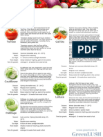 Grow Guide - Vegetables