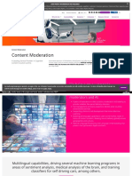 Content Curation and Content Moderation Solutions India