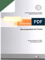 Informe Investigación Especial 314-15 Municipalidad de Fresia