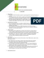 Disciplinary Protocols and Procedures