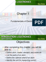 Chapter 01 Fundamentals of Electricity