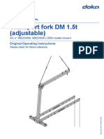 Lifting Fork- Table Formwork