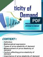 Price Elasticity of Demand @Sonam