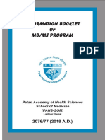 Final 2019 Mdms Booklet 2019