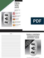 Notice Mitigeur Douche FrenchTripleControlIssue2COMBINATION