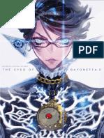 Bayonetta 2 Official Artbook the Eyes of Bayonetta 2 by Kbg