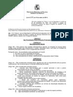 Lei 5.777 2011 Pelotas - Código de Instalações Prediais Água e Esgoto