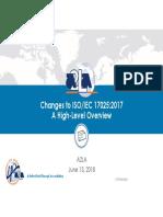 04_2018-A2LA Presentation - P2 - Changes in 17025-2017 - Rob Knake
