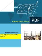 Randon James Morris  |PDF| Alien Abduction Insurance Policy Overview