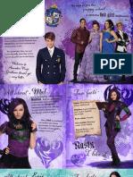 Disney Isle of the Lost Disney Descendants Info Sheets 1573461